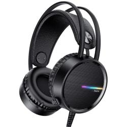 Gaming Headset med Mikrofon for Xbox One/ PS4. / PS5 Hörlurar Svart