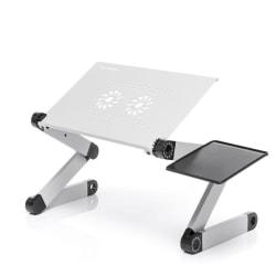 Smart Vikbart Laptopbord med flera positioner - InnovaGoods Aluminium