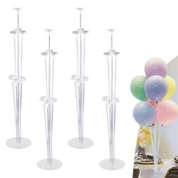 Ballong träd höjd bord ballongstativ kit 4 st,