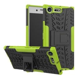Sony Xperia XZ Premium Hybird skal med kickstand - Grön