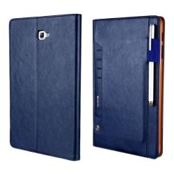 CMA12 Samsung Galaxy Tab A 10.1 (2016) Vikbart fodral - Blå