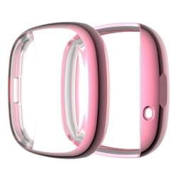 Fitbit Versa 3 / Sense durable simple frame - Pink