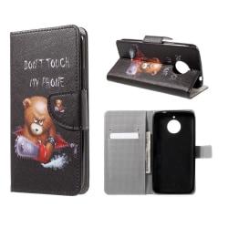 Motorola Moto E4 Plus Fodral med unikt motiv - Arg björn