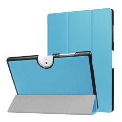 Acer Iconia Tab 10 B3-A40 Tvåfärgat vikbart fodral - Blå