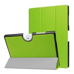 Acer Iconia Tab 10 B3-A40 Tvåfärgat vikbart fodral - Grön