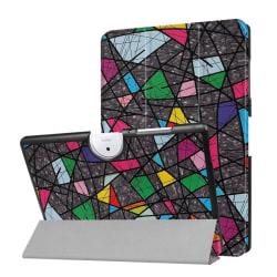 Acer Iconia Tab 10 B3-A40 Vikbart fodral med motiv - Färger