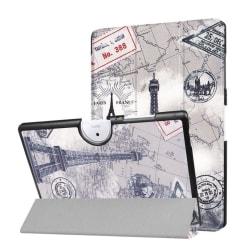 Acer Iconia Tab 10 B3-A40 Vikbart fodral med motiv - Paris k