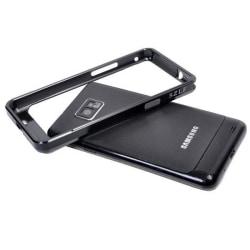 Aluminium Bumper för Samsung Galaxy S2 (Svart)