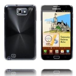 Aluminium Shield (Svart) Samsung Galaxy Note Skal