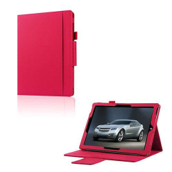 Amdrup Skyddande Läderfodral till Microsoft Surface 3 - Varm