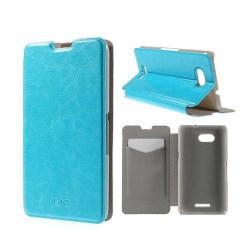 Amdrup Sony Xperia E4G med Plånbok - Ljus Blå