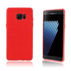 Andersen Flexibelt Skal för Samsung Galaxy Note 7 - Röd