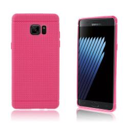 Andersen Flexibelt Skal för Samsung Galaxy Note 7 - Varm Ros