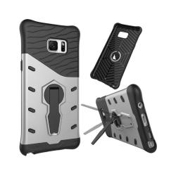 Armor Skal med Kickstand för Samsung Galaxy Note 7 - Silver