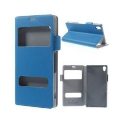 Bellman (Blå) Sony Xperia Z3 Äkta Läderfodral