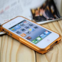 Blade (Guld) iPhone 4 Aluminium-Bumper