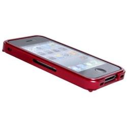 Blade  (Röd) Aluminium-Bumper för iPhone 4