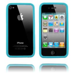 Bumper i4 (Ljusblå) iPhone 4/4S Silikonskal
