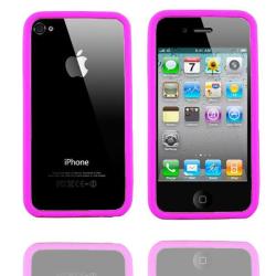 Bumper i4 (Stark Rosa) iPhone 4/4S Silikonskal