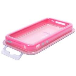 Bumper med metallknappar (Rosa) iPhone 4S-Bumper