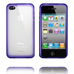 Bumper Plus (Lila) iPhone 4 / 4S Skal