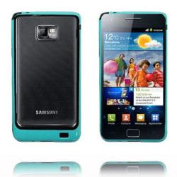 Bumper Ver 2 (Tropisk Blå/Svart) Samsung Galaxy S2-Bumper