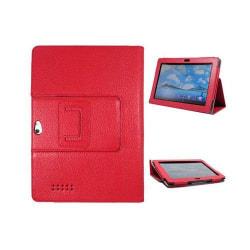Business (Röd) ASUS PadFone Infinity Läderfodral