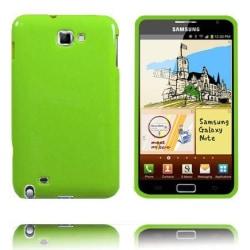 Candy Colors (Ljusgrön) Samsung Galaxy Note Skal