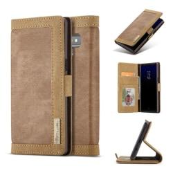 CASEME Samsung Galaxy Note 9 mobilfodral syntetläder plast s