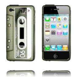 Cassette - Semi-Transparent (Grå) iPhone 4/4S Silikonskal