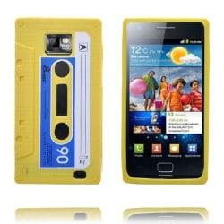 Cassette Tape (Gul) Samsung Galaxy S2 Skal