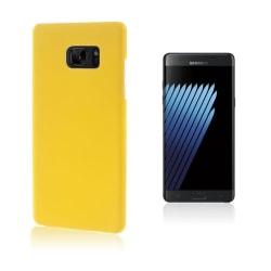 Christensen Gummi Skal för Samsung Galaxy Note 7 - Gul