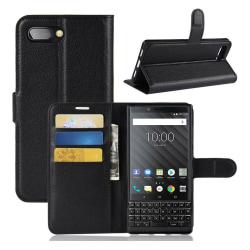 Classic BlackBerry KEY2 flip case - Black