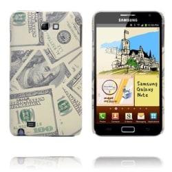 Cool Cash (Sand US Dollars) Samsung Galaxy Note Skal