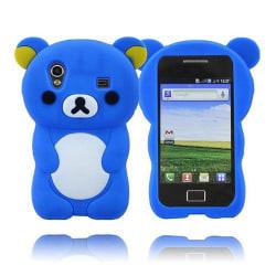 Cute Bear (Blå) Samsung Galaxy Ace Skal