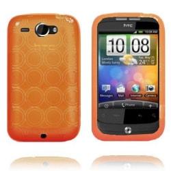 Defender (Orange) HTC Wildfire G8 Skal