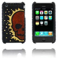 Diamond Skull (Koppar) iPhone 3GS Skal
