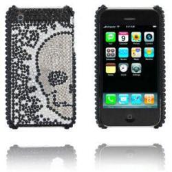 Diamond Skull (Silver) iPhone 3GS Skal