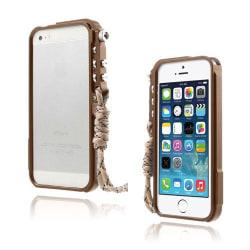 Dimension (Brun) iPhone 5/5S Aluminium Bumper