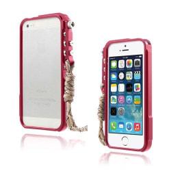 Dimension (Röd) iPhone 5/5S Aluminium Bumper