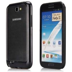 Dual Compund (Svart) Samsung Galaxy Note 2-Bumper