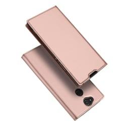 DUX DUCIS Sony Xperia XA2 Plus mobilfodral syntet lädersilik