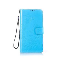 Edwardson Läderfodral för Samsung Galaxy Note 7 - Blå