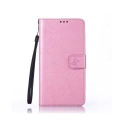 Edwardson Läderfodral för Samsung Galaxy Note 7 - Rosa