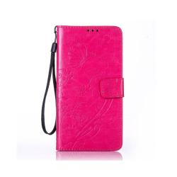 Edwardson Läderfodral för Samsung Galaxy Note 7 - Varm Rosa