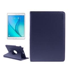 ENKAY Litchi Grain Samsung Galaxy Tab A 9.7 Fodral - Mörk Bl