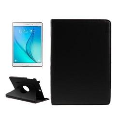 ENKAY Litchi Grain Samsung Galaxy Tab A 9.7 Fodral - Svart