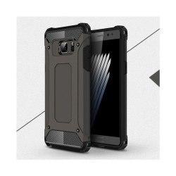 Flexibelt Hybrid Skal för Samsung Galaxy Note 7 - Brons