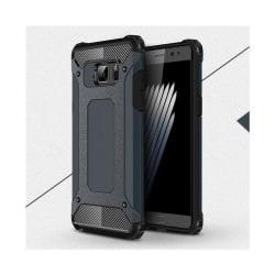 Flexibelt Hybrid Skal för Samsung Galaxy Note 7 - Mörkblå