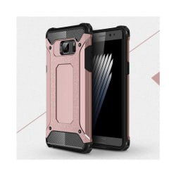 Flexibelt Hybrid Skal för Samsung Galaxy Note 7 - Rosa